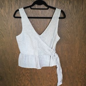 Abercrombie cropped tank size S
